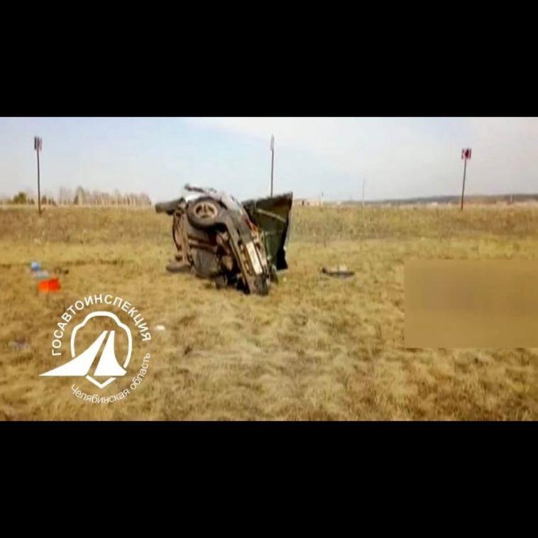 В Чебаркульском районе 41-летний мужчина насмерть разбился на трассе