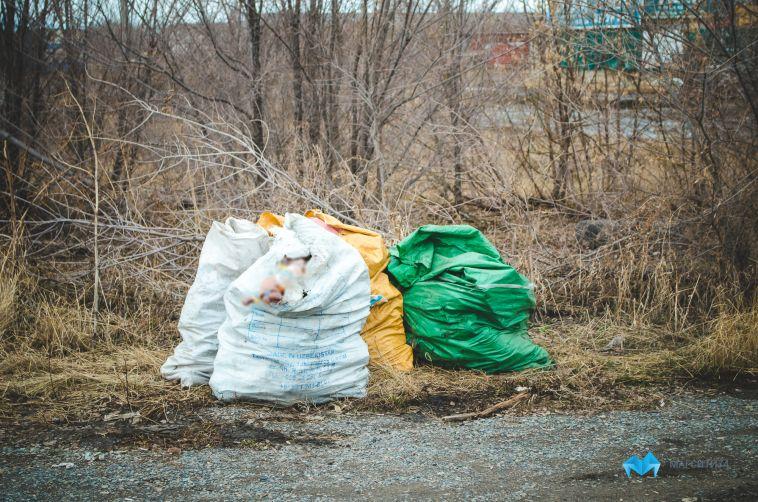Магнитогорцев призвали не выкидывать мусор из окон