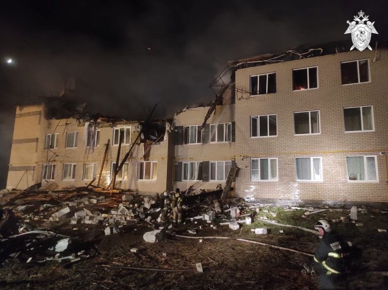Взрыв газа разрушил жилой дом в Нижегородской области