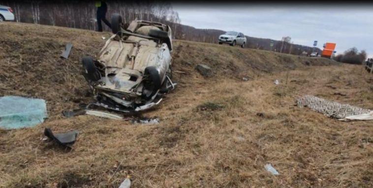 Авария в Абзелиловском районе унесла жизни водителя и пассажира