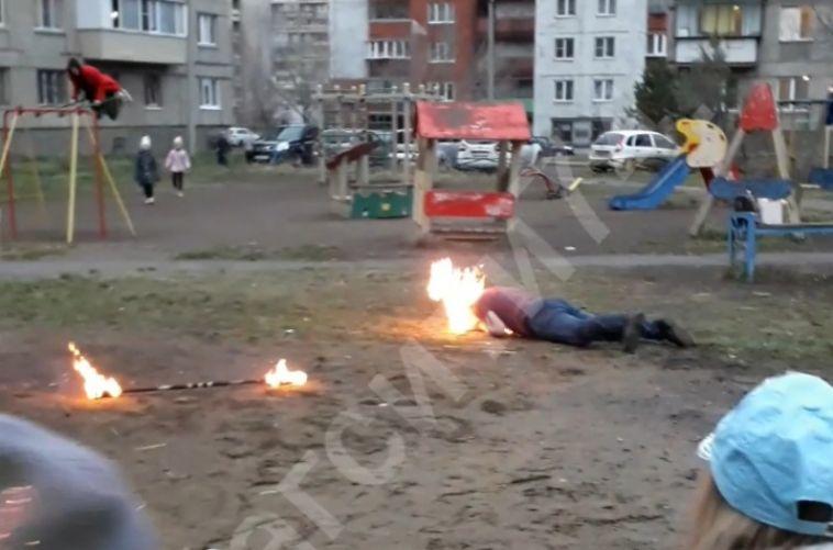 «Фаер-шоу в программе не было»: в мэрии Магнитогорска прокомментировали инцидент с загоревшимся артистом