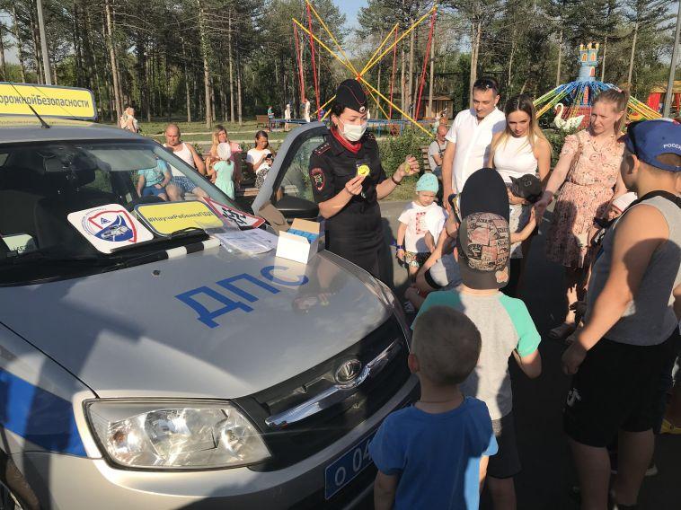 Сотрудники Госавтоинспекции провели «День пропавших детей»