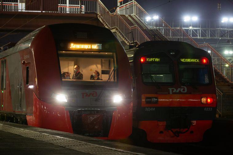 Южноуральцам предлагают изменить маршрут поезда «Ласточка»