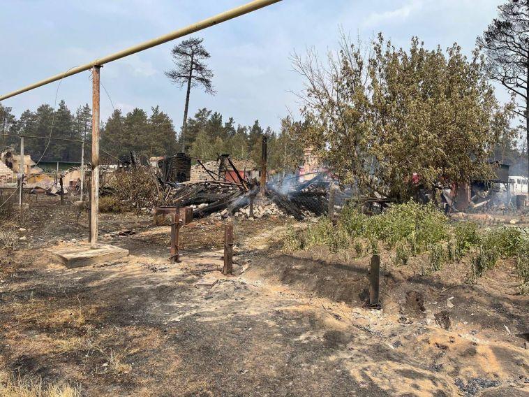 В Челябинской области продолжают бороться с огнём