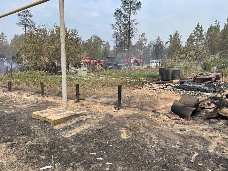 Один человек погиб при лесных пожарах в Челябинской области