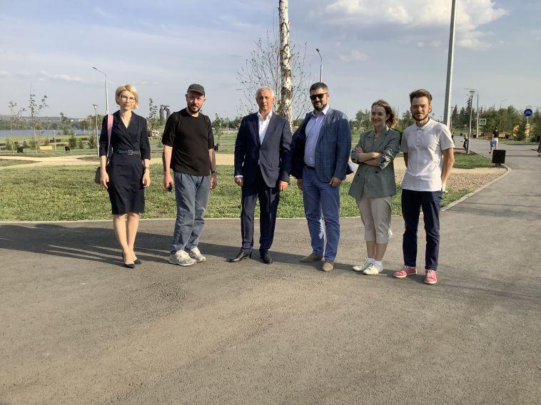 Известный дизайнер Артемий Лебедев посетил Магнитогорск