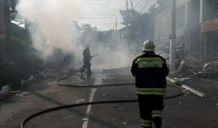 Вгостинице Геленджика произошел взрыв бытового газа