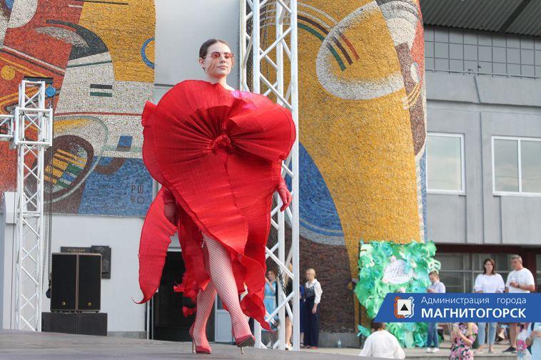 ВМагнитогорске прошел фестиваль моды имузыки «Половодье»