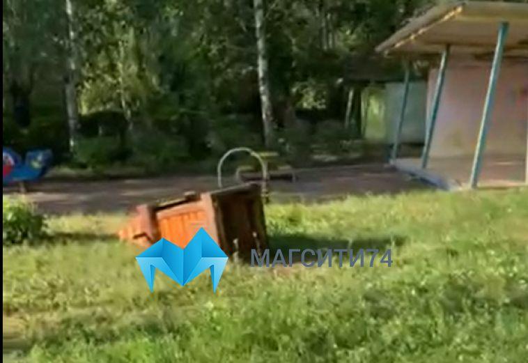 ВМагнитогорске водном издетских садов дворовые хулиганы устроили погром