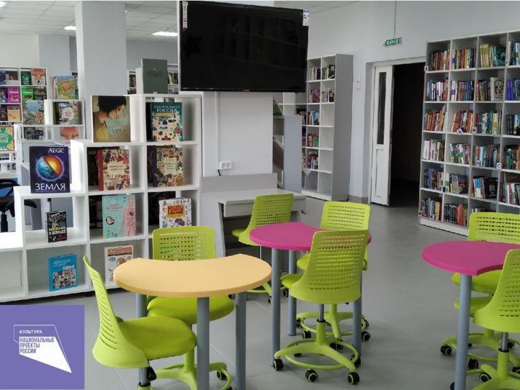 В Центральной детской библиотеке им. Н.Г.Кондратковской продолжается обновление