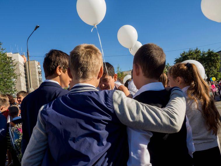 Как россияне относились к1сентября, когда учились вшколе?