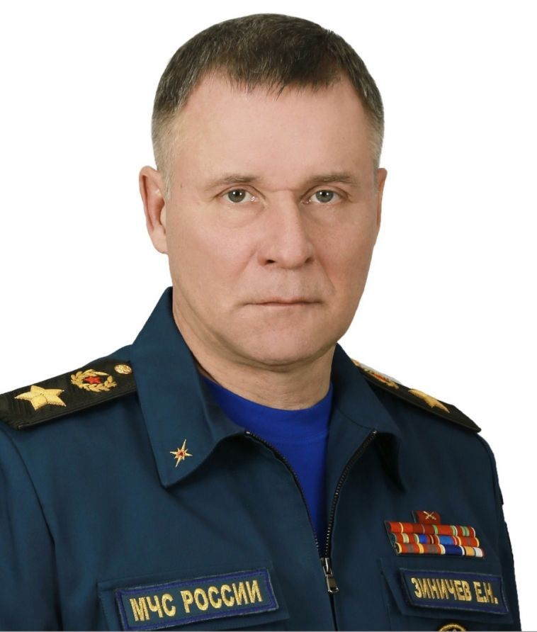 Погиб глава МЧС Евгений Зиничев