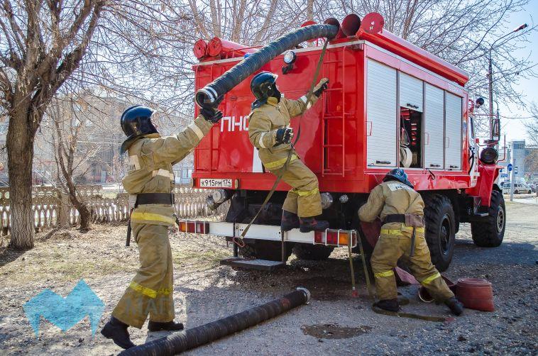 В одном из садов Магнитогорска в пожаре погиб человек