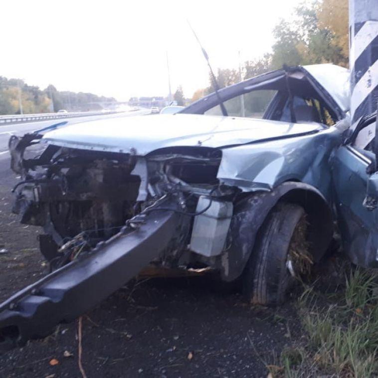 В Челябинской области на трассе произошло смертельное ДТП