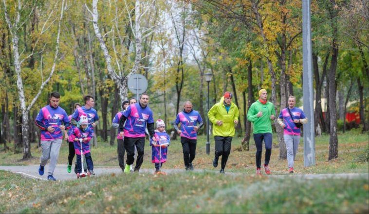 В Магнитогорске состоялся 55-й легкоатлетический забег «Азия-Европа»