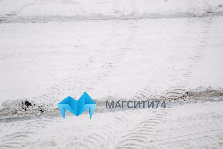 Трассу между Магнитогорском и Челябинском замело