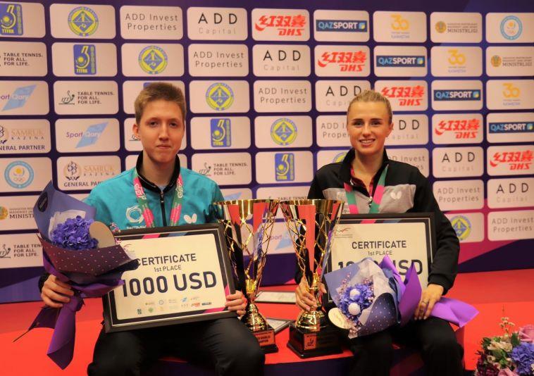 Студенты МГТУ взяли золото на международном турнире по настольному теннису