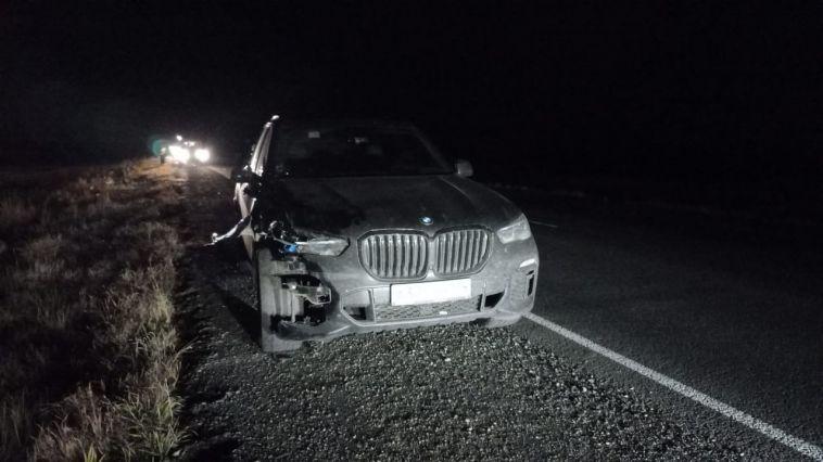 ВЧелябинской области водитель сбил пешехода, незаметив его втемноте.
