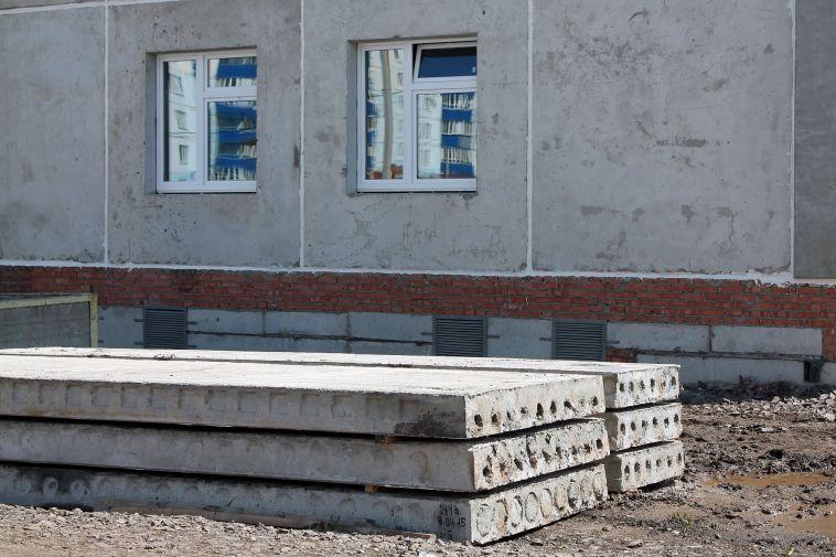 В Челябинской области обрушилось недостроенное здание