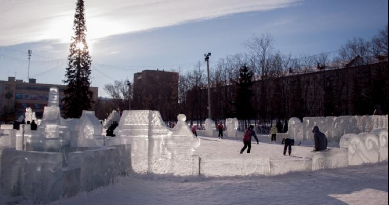 Город спит. Магнитогорск 1 января