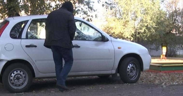17-летний парень угнал автомобиль