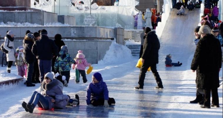 Ледовые городки простоят до 31 января