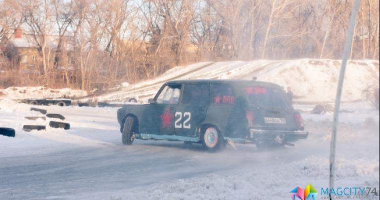 В Магнитогорске состоялись соревнования по зимнему дрифту