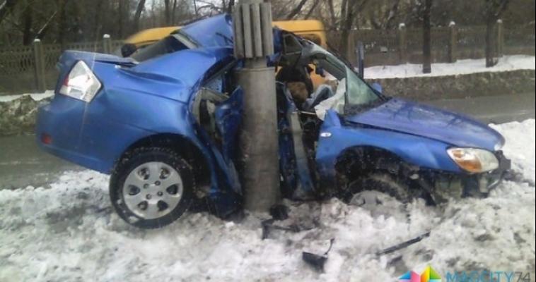 На выходных в ДТП в Магнитогорске пострадало два человека