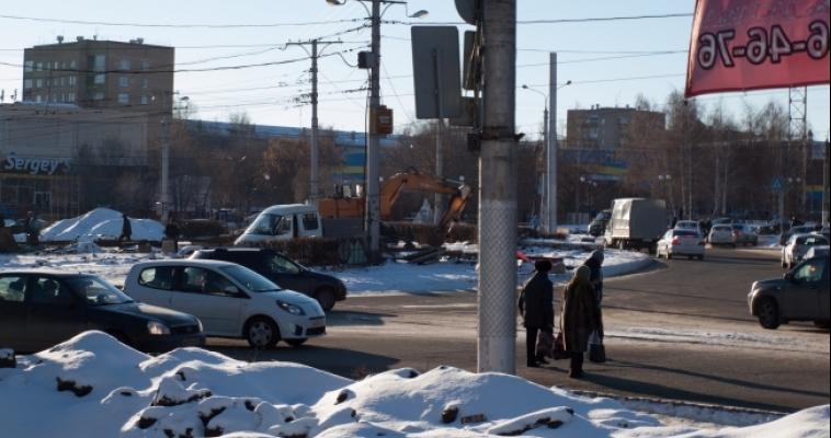 Из-за реконструкции Площади Мира пришлось закрыть остановку