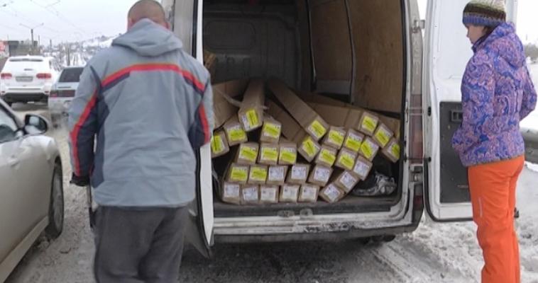 ДТП на Казачьей переправе: фургон оказался на рельсах