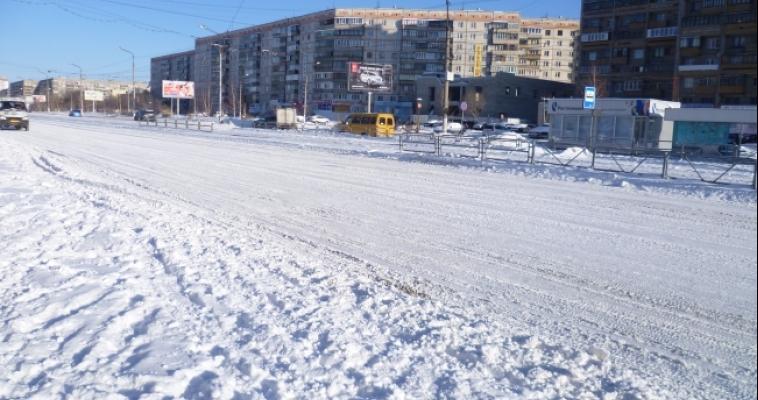 Около 6 тысяч кубометров снега вывезено с улиц города
