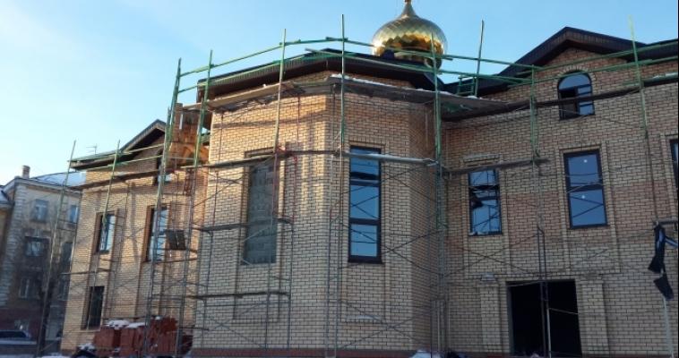Вместо заброшенного сквера - новый храм