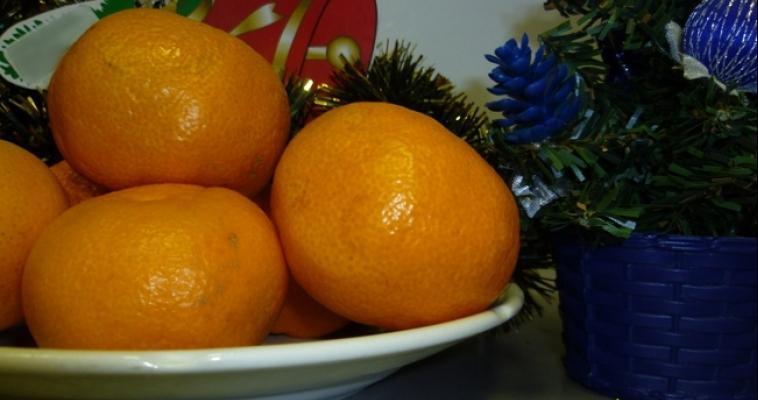 В Магнитогорск не доехали мандарины