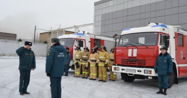 Безопасность иностранных спортсменов будут обеспечивать огнеборцы в полной боевой  готовности