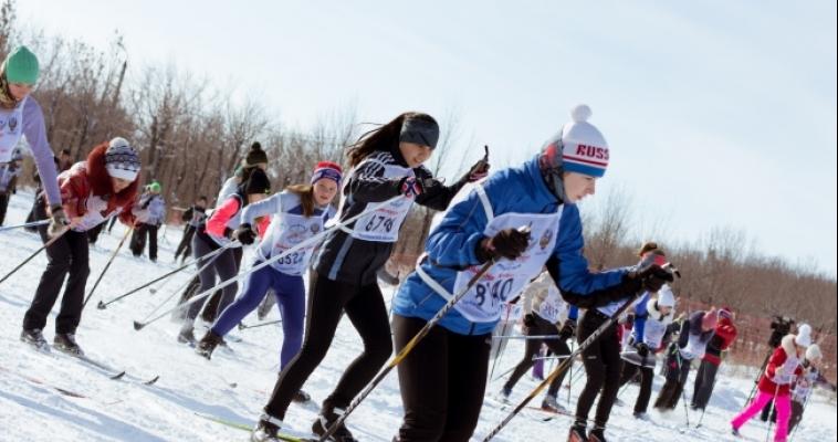 Новый глава встал на лыжи! Магнитогорск присоединился к Всероссийским массовым соревнованиям «Лыжня России -2015»