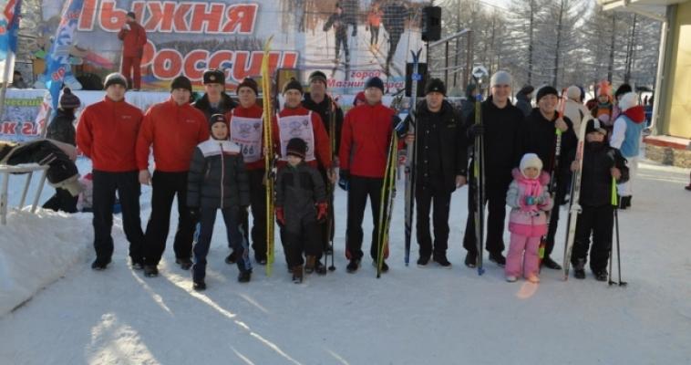 150 магнитогорских пожарных встали на лыжи