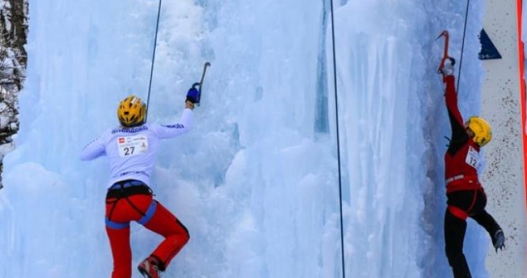 Магнитогорская спортсменка выиграла бронзу этапа Кубка мира по ледолазанию