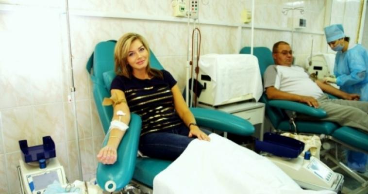 День онкобольного ребенка на станции переливания крови
