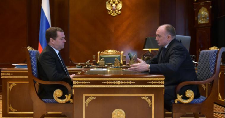 Борис Дубровский встретился с Дмитрием Медведевым