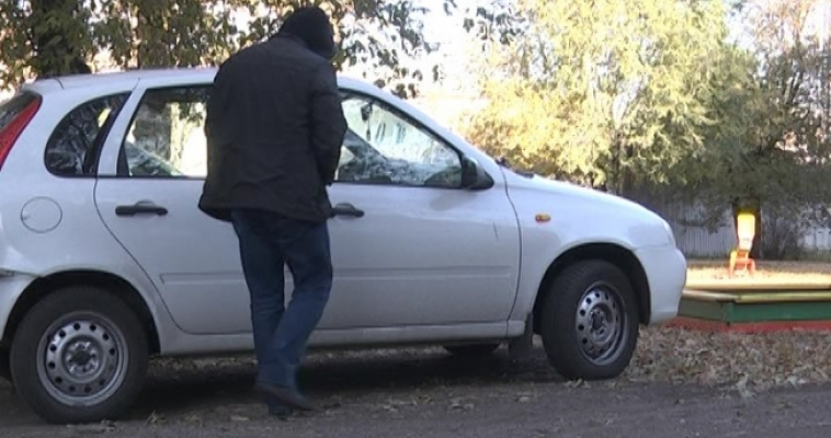 Автомобильный вор попал в руки полиции
