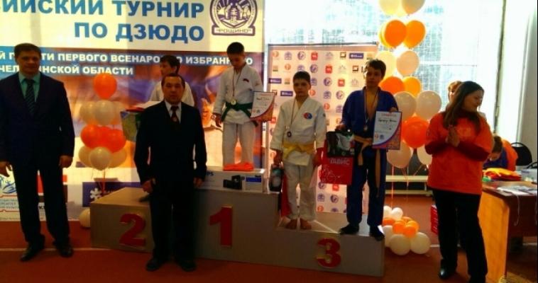 Дзюдоисты вернулись из Челябинска с медалями