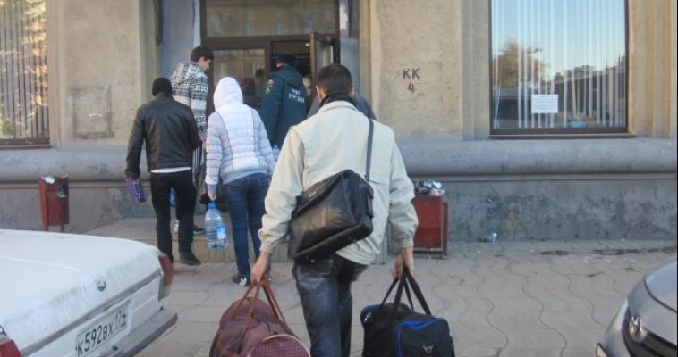 В Магнитогорск снова прибыли переселенцы из Украины