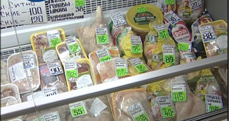 Цены на продукты в регионе: подешевело мясо птицы и огурцы