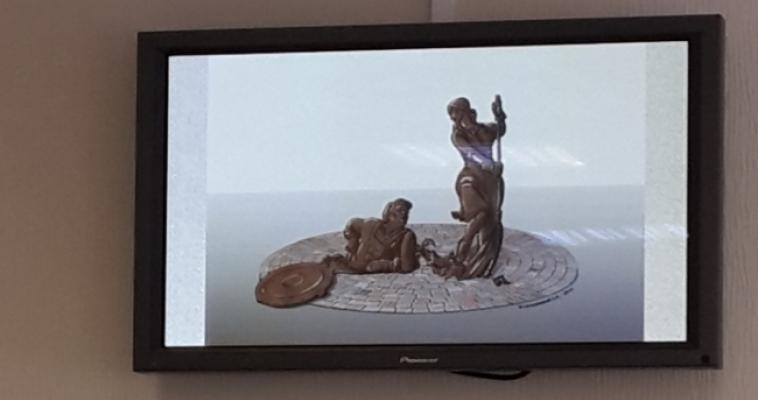 Летом в Магнитогорске появится памятник дворнику