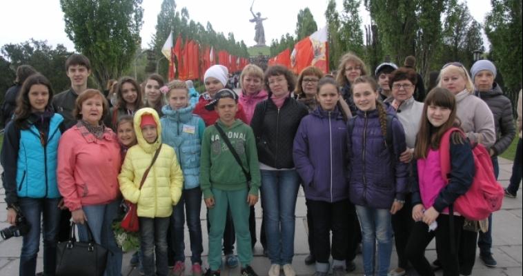 Юные магнитогорские музыканты подарили концерт детям Волгограда