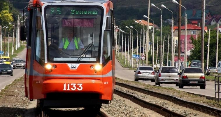 Из-за дорожно-ремонтных работ меняется движение трамваев