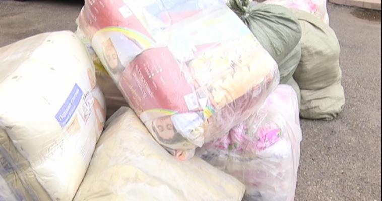 Магнитогорцы собрали три фуры гуманитарной помощи для Хакасии