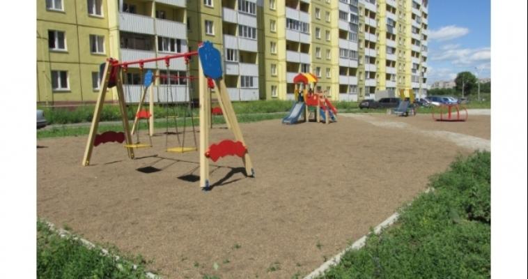 49 детских площадок Магнитогорска отремонтируют