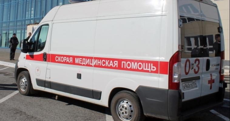 В аварии с участием пяти машин пострадал человек