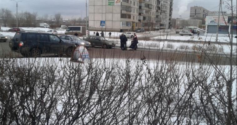 В Магнитогорске водитель сбил женщину на «зебре»